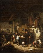 Adriaen van ostade The School Master oil